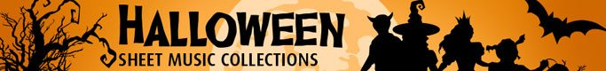 Halloween Sheet Music Collections